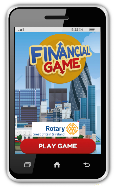 The Financial Game in partnership with Rotary Great Britain and Ireland